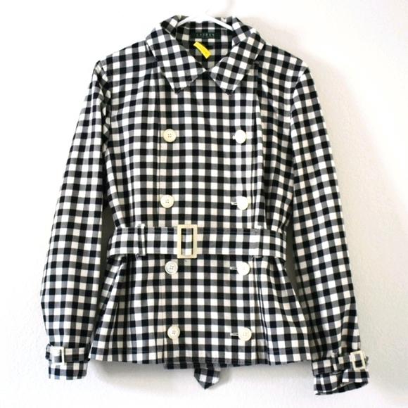 Ralph Lauren gingham jacket